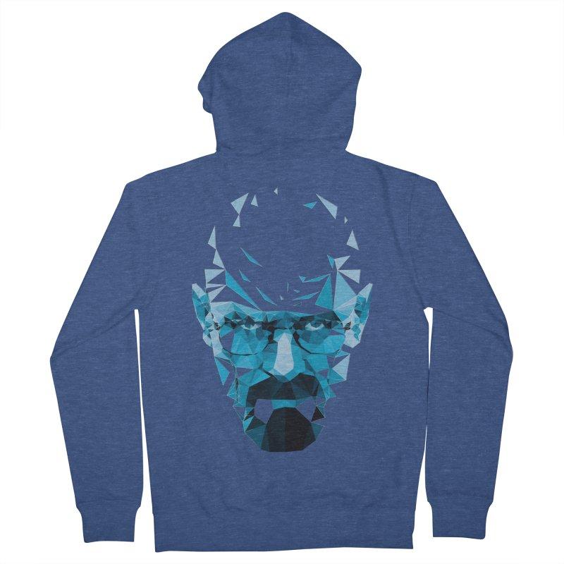 Mr. White's Blue Men's Zip-Up Hoody by ToySkull