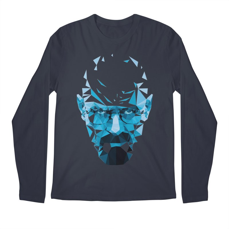 Mr. White's Blue Men's Longsleeve T-Shirt by ToySkull
