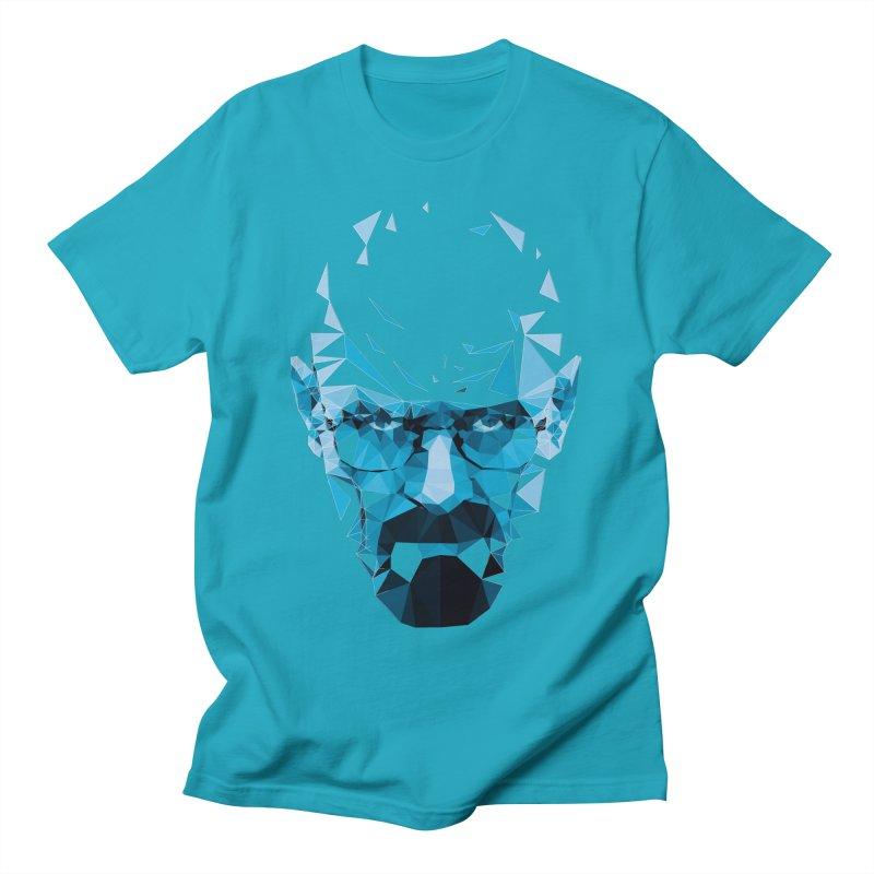 Mr. White's Blue Men's T-Shirt by ToySkull