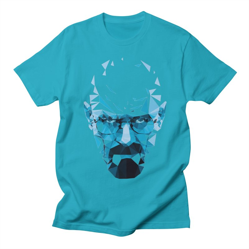 Mr. White's Blue Men's T-Shirt by ToySkull