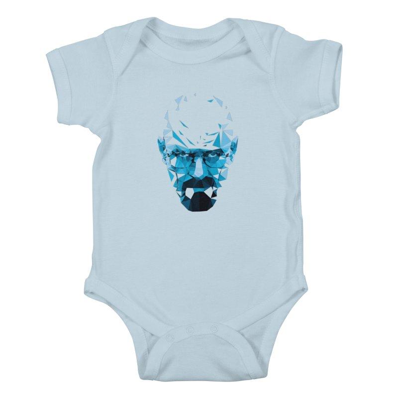 Mr. White's Blue Kids Baby Bodysuit by ToySkull