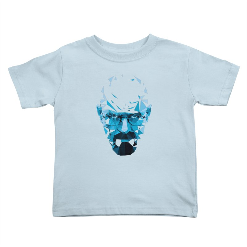 Mr. White's Blue Kids Toddler T-Shirt by ToySkull