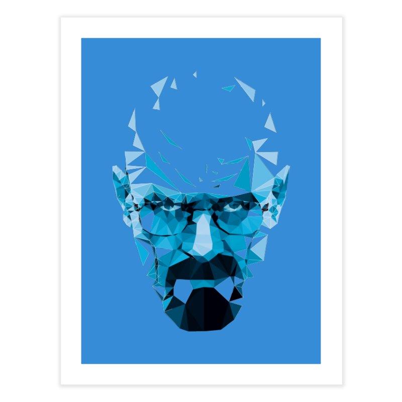 Mr. White's Blue Home Fine Art Print by ToySkull