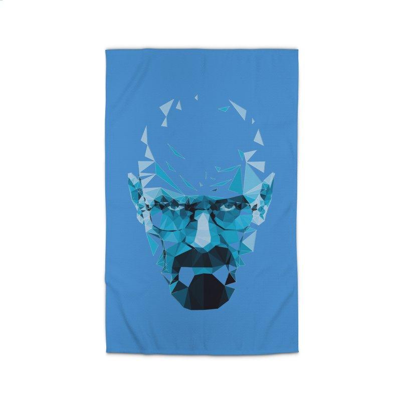 Mr. White's Blue Home Rug by ToySkull
