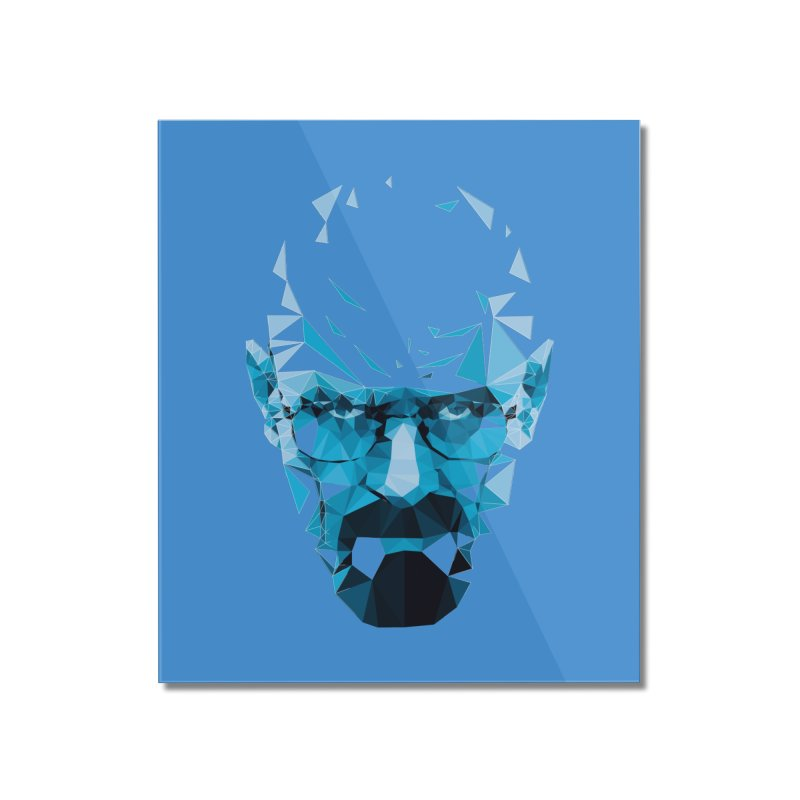 Mr. White's Blue Home Mounted Acrylic Print by ToySkull