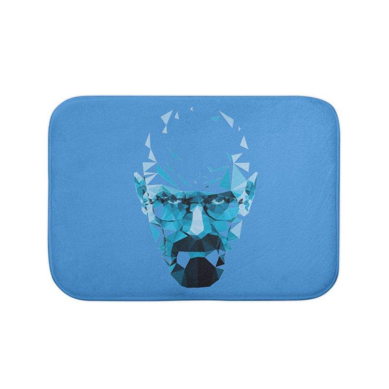 Mr. White's Blue Home Bath Mat by ToySkull