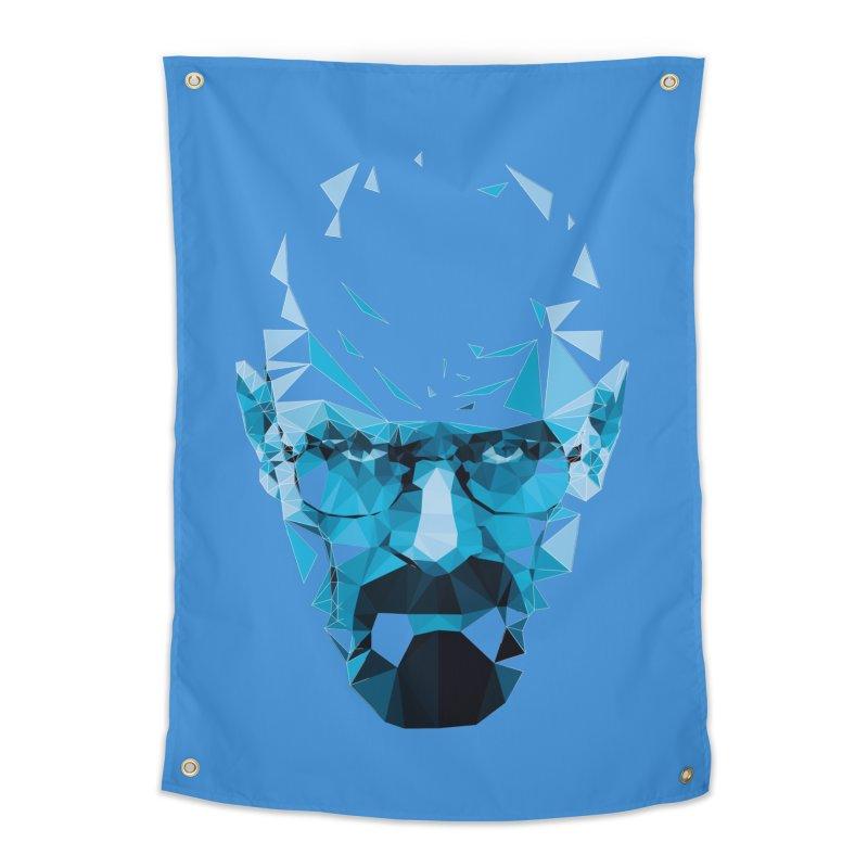 Mr. White's Blue Home Tapestry by ToySkull