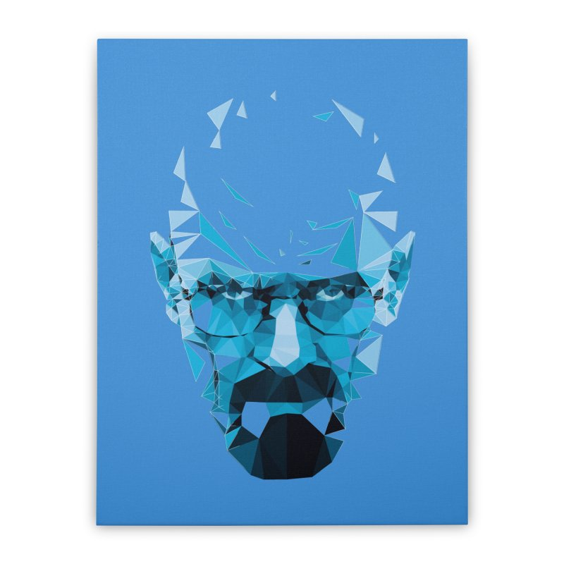 Mr. White's Blue Home Stretched Canvas by ToySkull