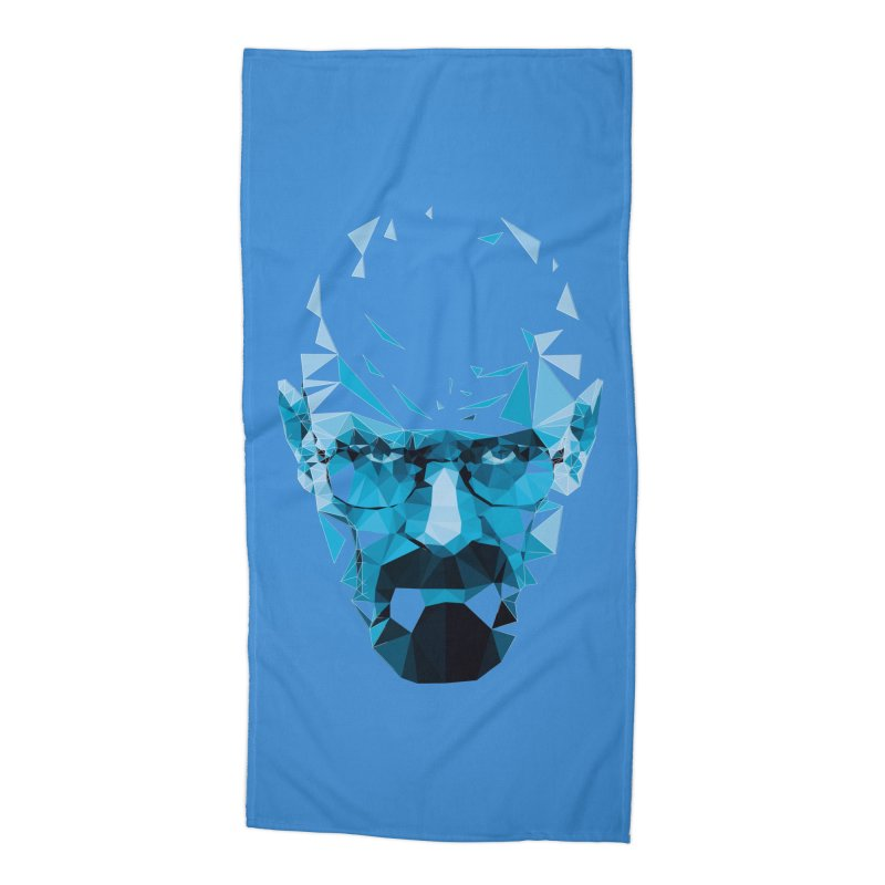 Mr. White's Blue Accessories Beach Towel by ToySkull
