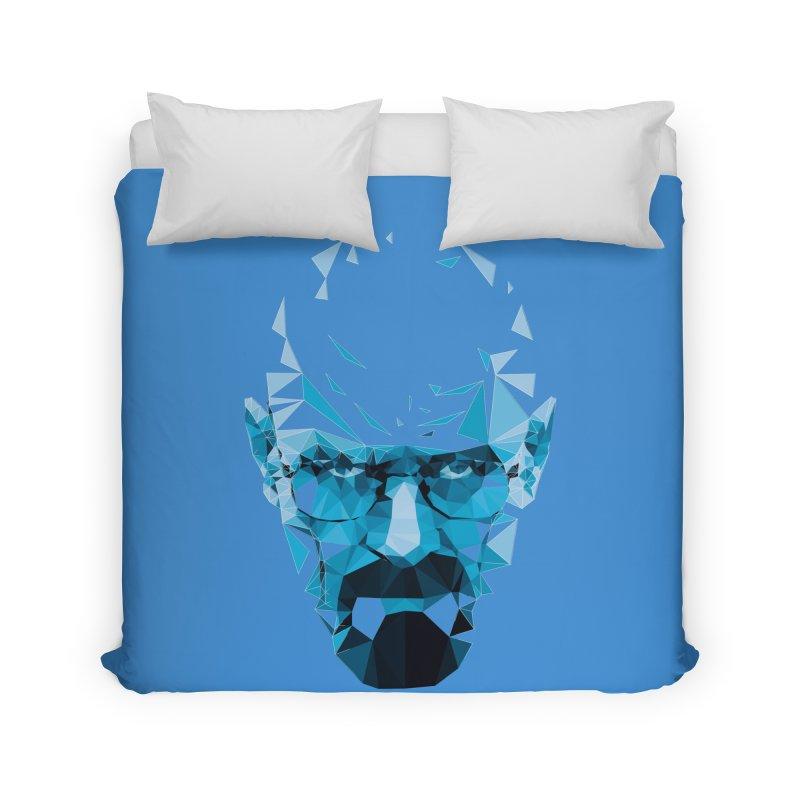 Mr. White's Blue Home Duvet by ToySkull
