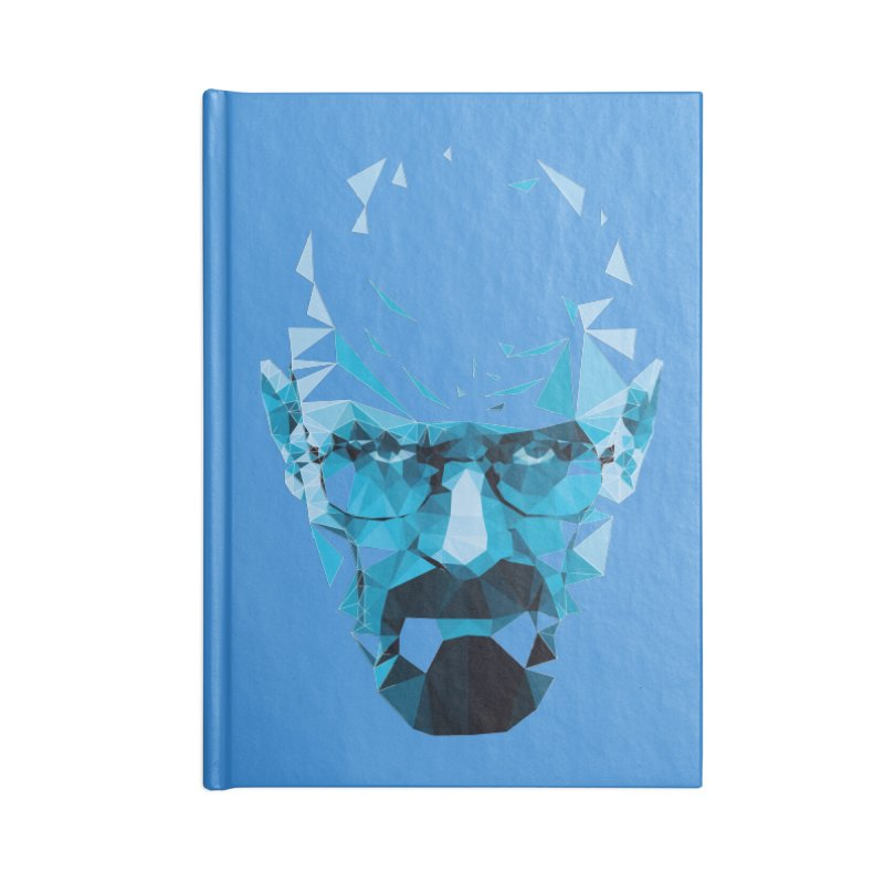 Mr. White's Blue Accessories Notebook by ToySkull