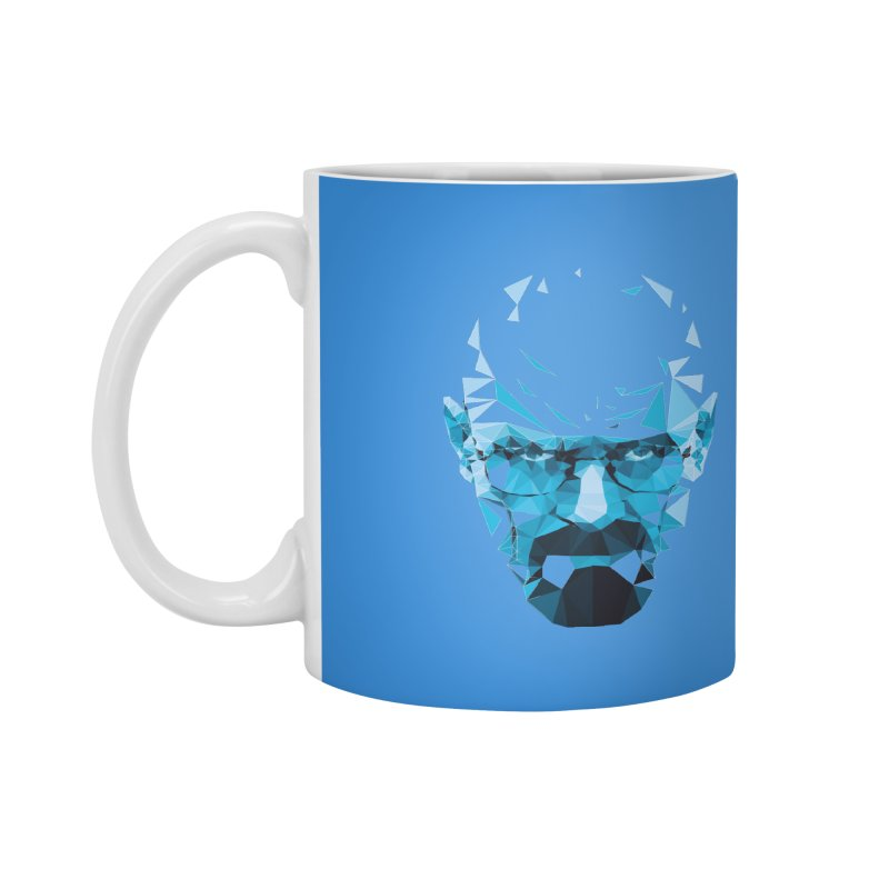 Mr. White's Blue Accessories Mug by ToySkull