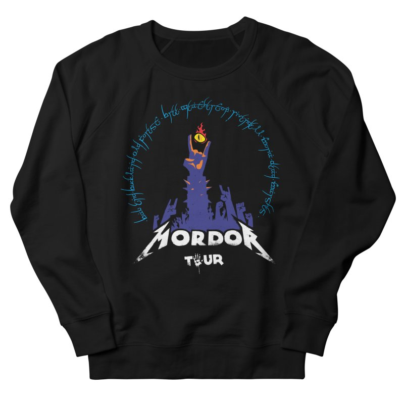 THE ROAD TO MORDOR Women's Sweatshirt by ToySkull