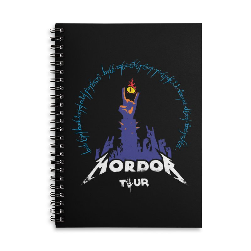 THE ROAD TO MORDOR Accessories Notebook by ToySkull