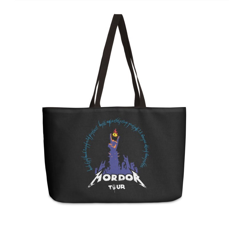 THE ROAD TO MORDOR Accessories Bag by ToySkull
