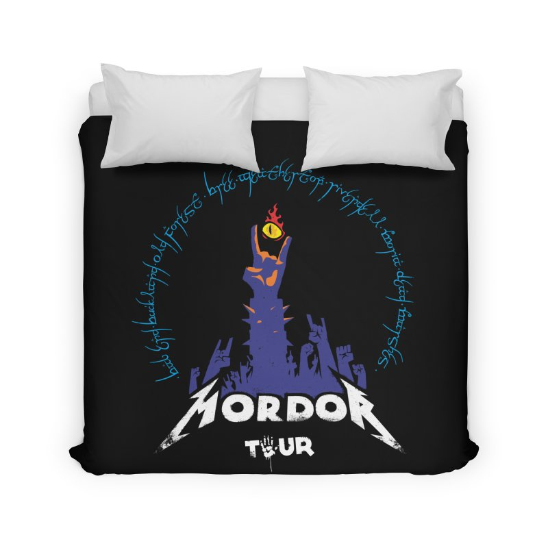 THE ROAD TO MORDOR Home Duvet by ToySkull