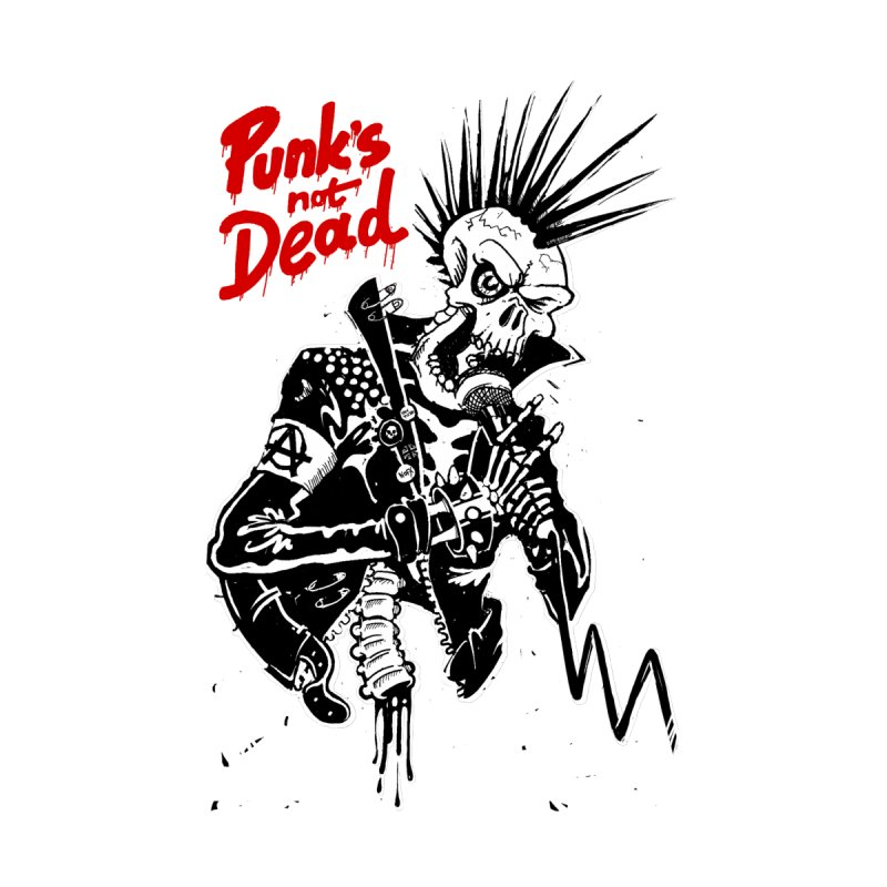 PUNK's NOT DEAD Men's T-Shirt by ToySkull