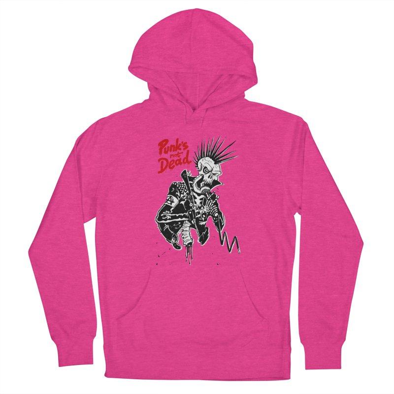 PUNK's NOT DEAD Women's Pullover Hoody by ToySkull