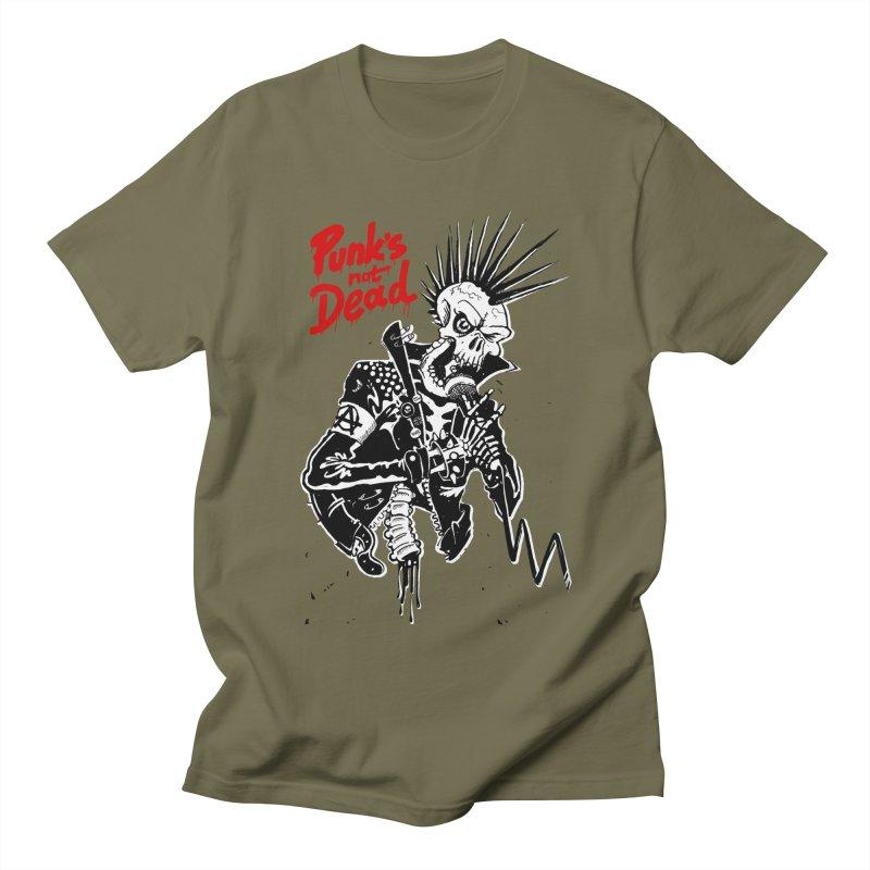 PUNK's NOT DEAD Men's T-Shirt by ToySkull