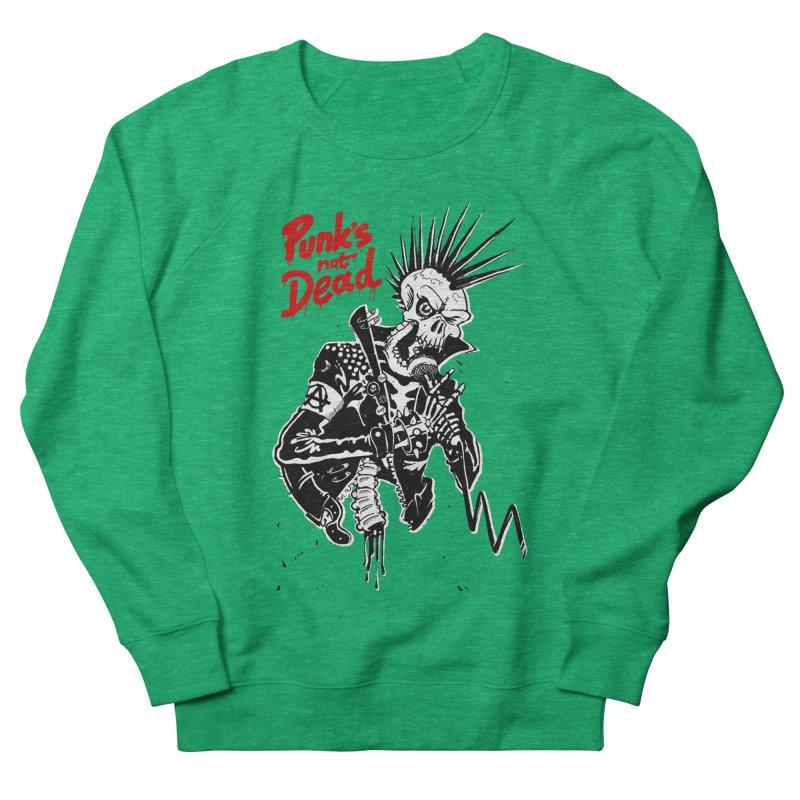 PUNK's NOT DEAD Women's Sweatshirt by ToySkull
