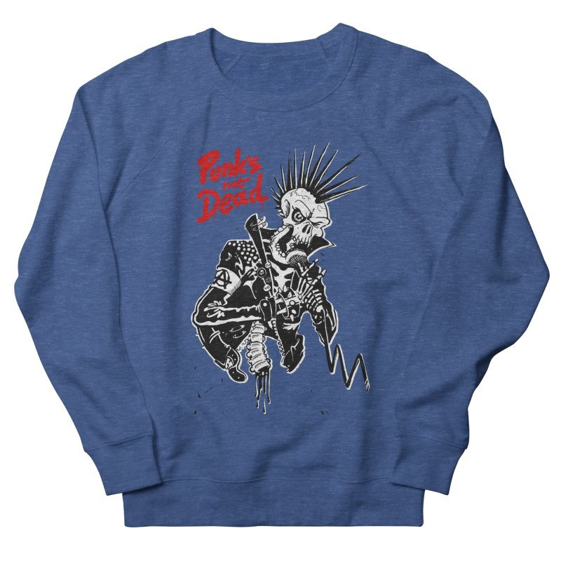 PUNK's NOT DEAD Men's Sweatshirt by ToySkull