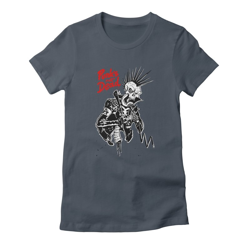 PUNK's NOT DEAD Women's T-Shirt by ToySkull