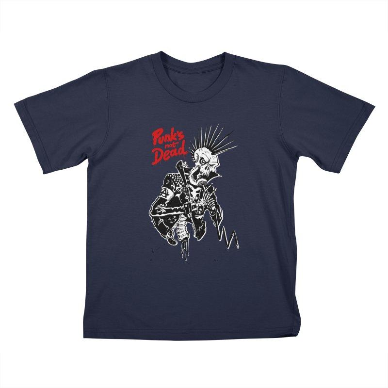 PUNK's NOT DEAD Kids T-Shirt by ToySkull