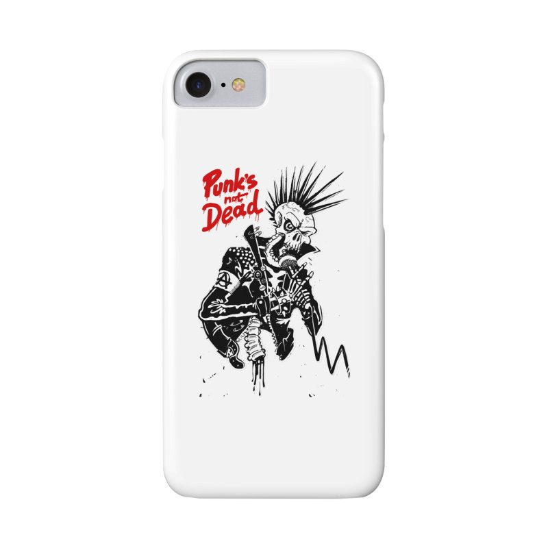 PUNK's NOT DEAD Accessories Phone Case by ToySkull