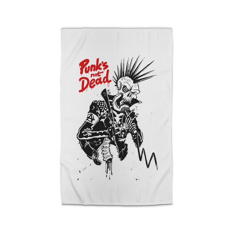 PUNK's NOT DEAD Home Rug by ToySkull