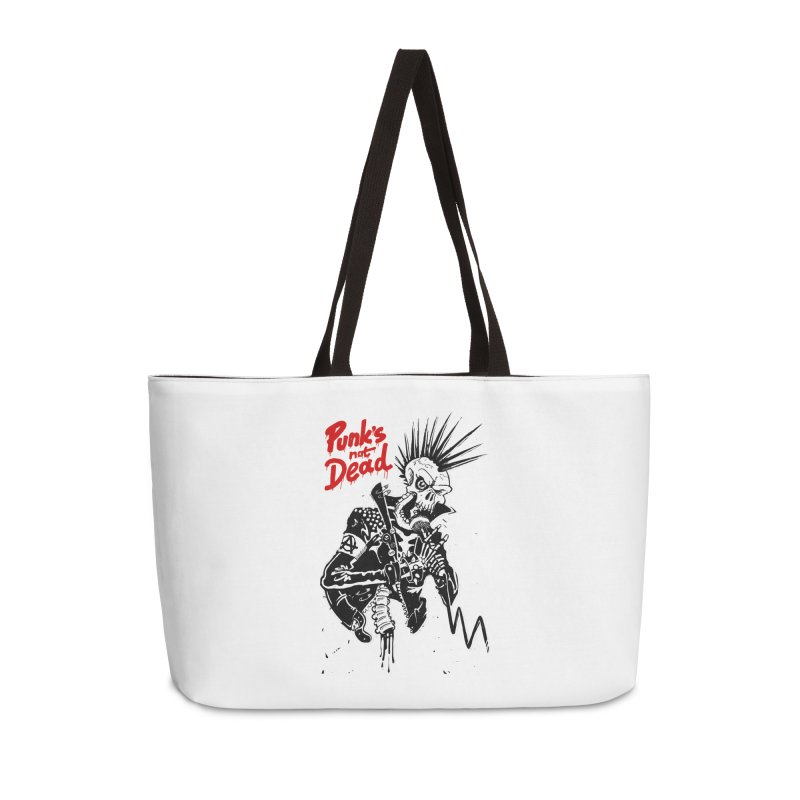 PUNK's NOT DEAD Accessories Bag by ToySkull