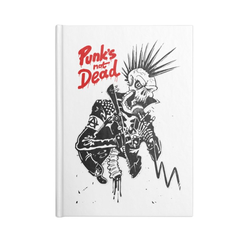 PUNK's NOT DEAD Accessories Notebook by ToySkull