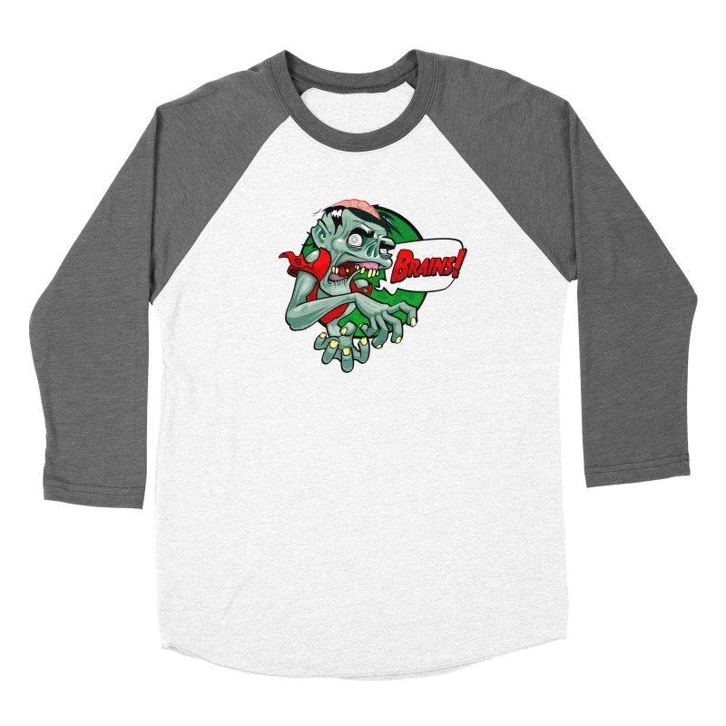 Zombie Women's Longsleeve T-Shirt by ToySkull