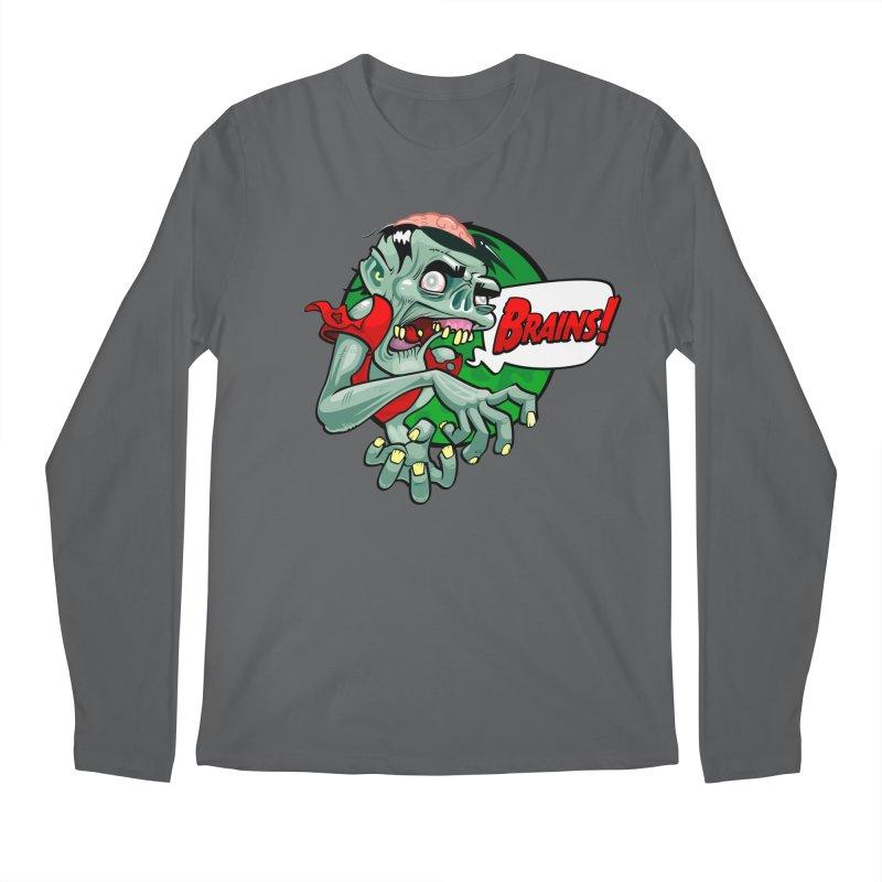Zombie Men's Longsleeve T-Shirt by ToySkull