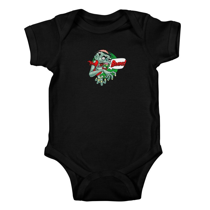 Zombie Kids Baby Bodysuit by ToySkull
