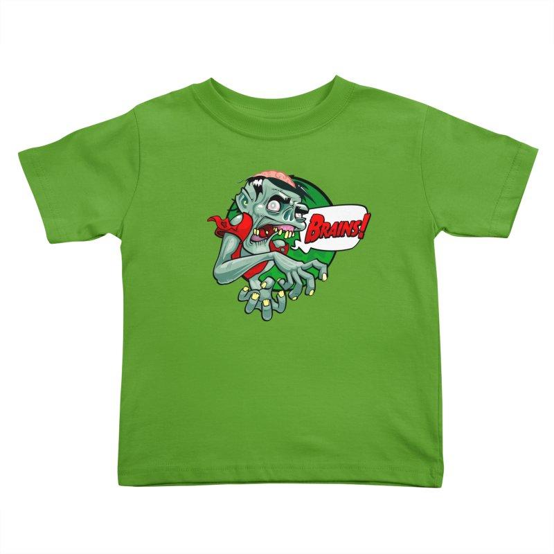 Zombie Kids Toddler T-Shirt by ToySkull
