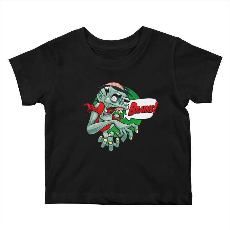 Zombie Kids Baby T-Shirt by ToySkull
