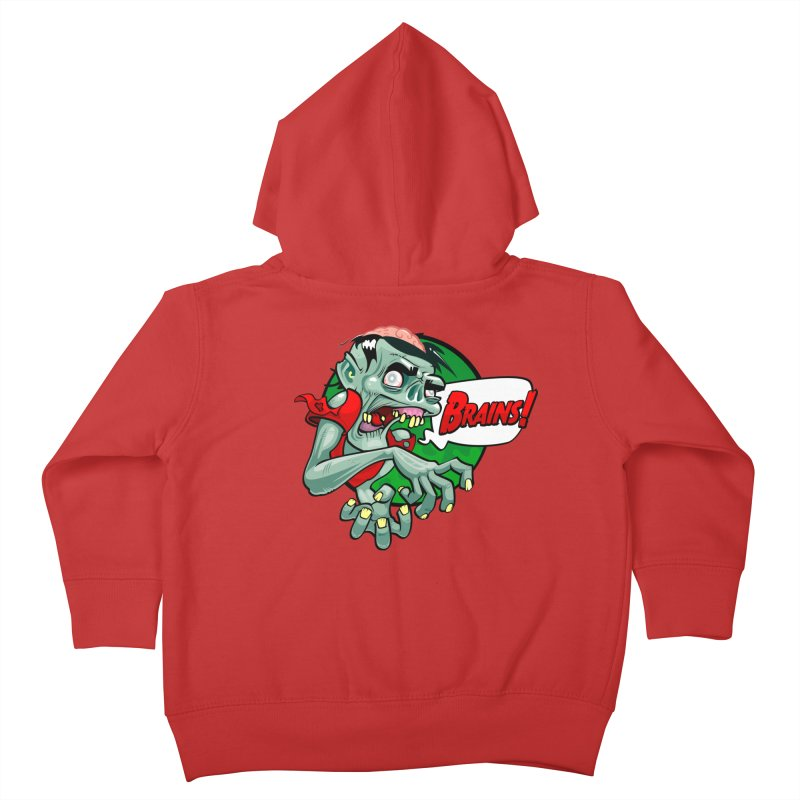 Zombie Kids Toddler Zip-Up Hoody by ToySkull