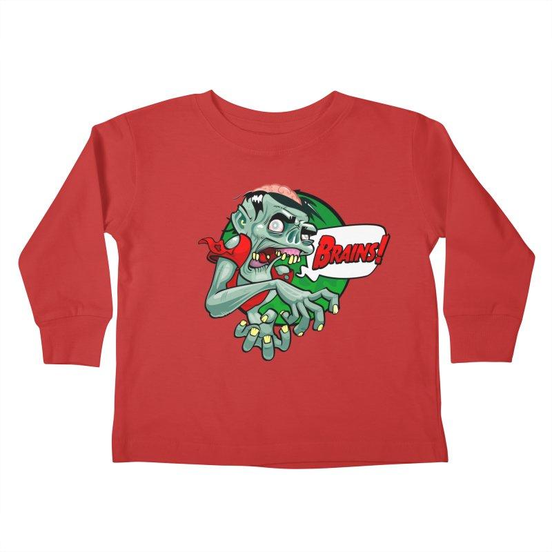 Zombie Kids Toddler Longsleeve T-Shirt by ToySkull