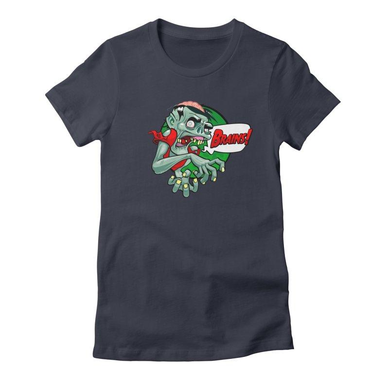 Zombie Women's T-Shirt by ToySkull