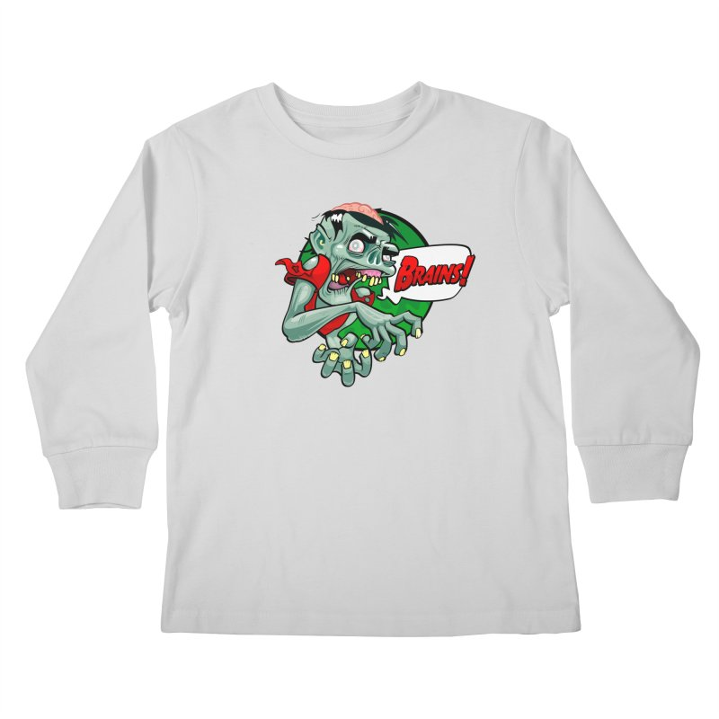 Zombie Kids Longsleeve T-Shirt by ToySkull