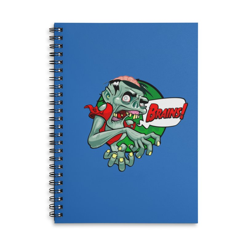 Zombie Accessories Notebook by ToySkull