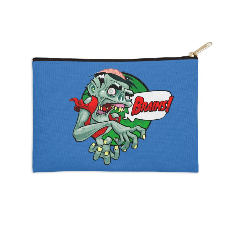 Zombie Accessories Zip Pouch by ToySkull