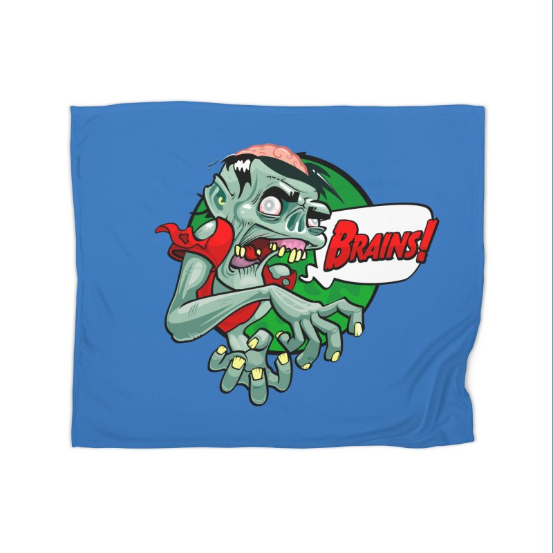 Zombie Home Blanket by ToySkull