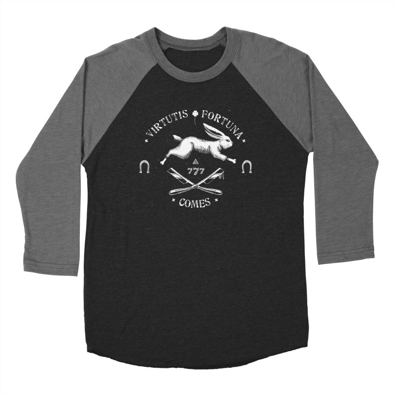 Luck, Companion of Courage Women's Longsleeve T-Shirt by ToySkull