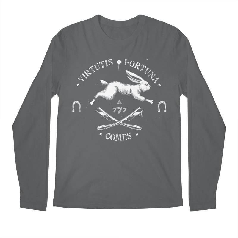 Luck, Companion of Courage Men's Longsleeve T-Shirt by ToySkull