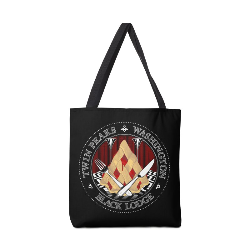 Black Lodge Accessories Bag by ToySkull
