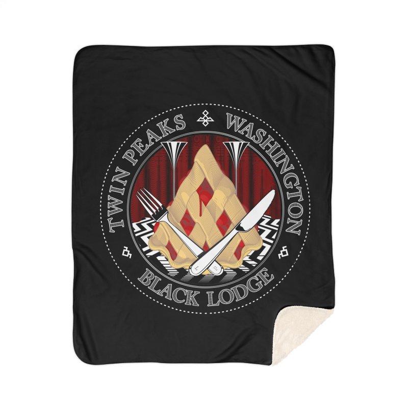Black Lodge Home Blanket by ToySkull