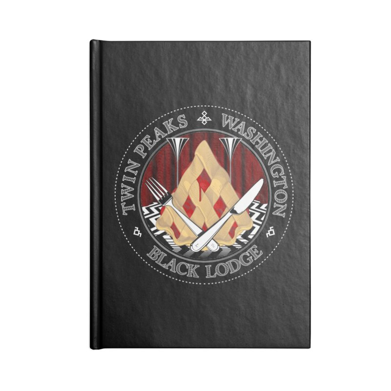 Black Lodge Accessories Notebook by ToySkull
