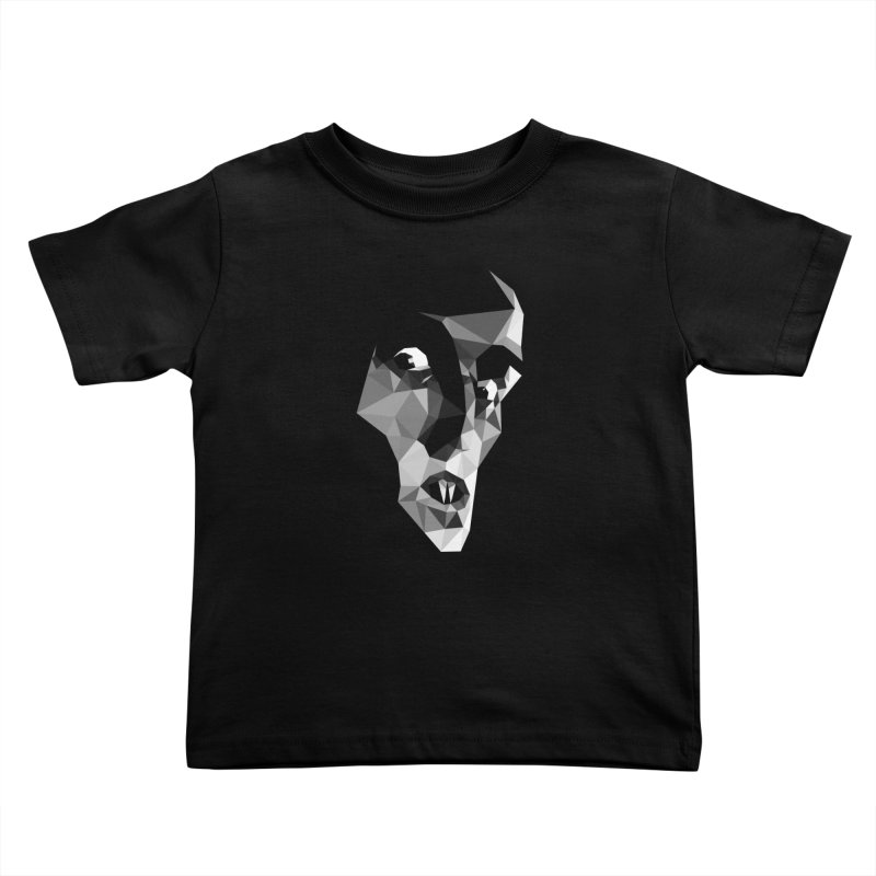 Strigoi Kids Toddler T-Shirt by ToySkull