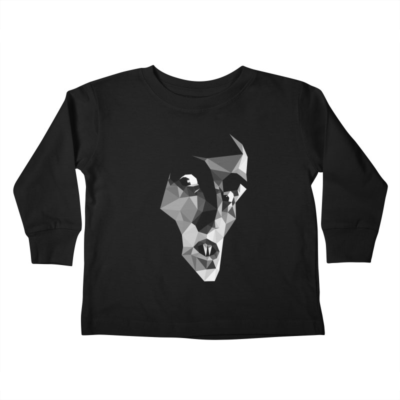 Strigoi Kids Toddler Longsleeve T-Shirt by ToySkull